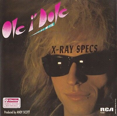 "The Sweet - Ole I'dole X Ray Specs 7"" Produced By Andy Scott - Mick Tucker Drums"