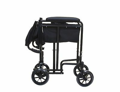 Lightweight Folding Transit Travel Wheelchair Angel Mobility