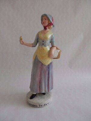 Goldscheider Myott Pottery Art deco Match Girl Figure