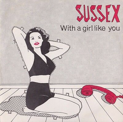 "The Sweet - Sussex With A Girl Like You 7"" Produced By Andy Scott - Signed"