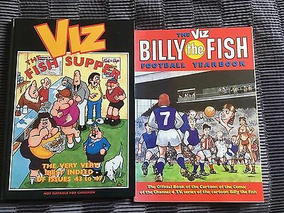 Viz Books - The Fish Supper & Billy The Fish