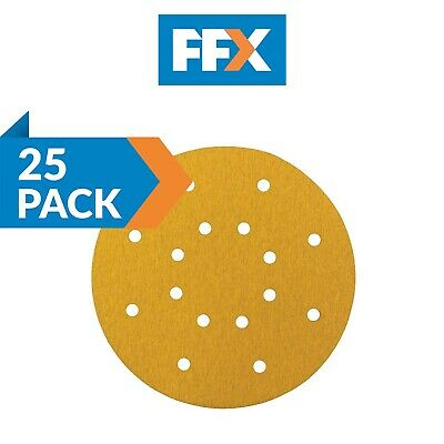Trade Pack 225mmGoldDisc100 Drywall Sanding Disc Perforated 225mm 100 Grit 50pk