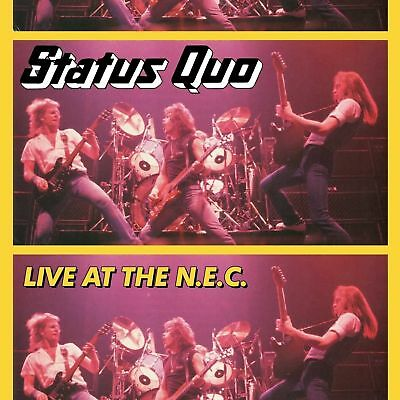 Status Quo Live At The Nec 3 X Lp New And Sealed