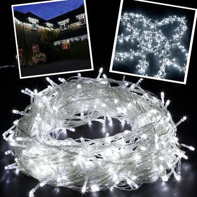 100Meters 500LED Bulb String Lights Fairy Party Christmas Wedding Indoor&Outdoor