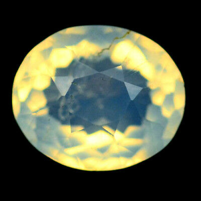 2.54 Ct Natural! Yellowish White Mexican Opal Oval