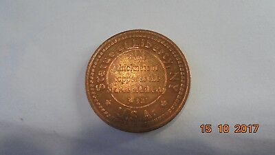 State of Liberty medallion 30mm diam x 3/32 thick as photo