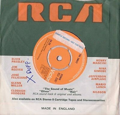 "The Sweet - Co Co Uk Sample Record Rca Records 7"" Single Mint"