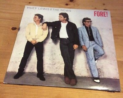 Huey Lewis And The News - Fore! Vinyl Lp Record Cdl 1534 Ex+/ex+