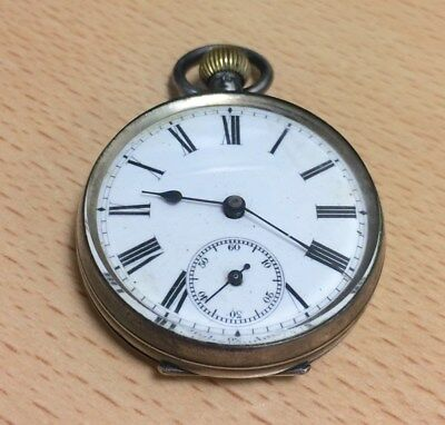 Old Pocket Watch, silver.