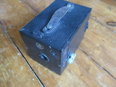 Vintage 2 1/4 ENSIGN BOX CAMERA by HOUGHTONS