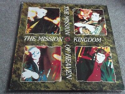 The Mission - Kingdom Of Heaven 1990 Lp Gothic Rock
