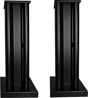Partington Broadside Speaker Stands (Pair) 50% OFF- Black RRP £349.95