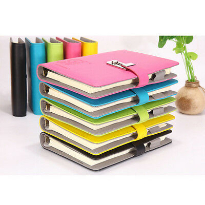 Large Diaries Journals Notebook Travel Book A5 with Code Lock Secret Diary AU