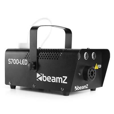 Nebelmaschine Beamz S700-Led 700W Flammen Led Dj Licht Effekt Fogger Smoke Disco