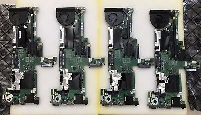 LOT OF 4 - Lenovo Motherboard ThinkPad  T440  i5-4300U 04X5014 + FAN + HEATSINK