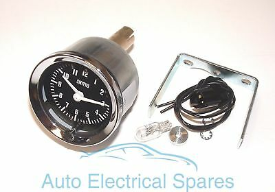 "SMITHS 12v 2"" 52mm classic car clock"