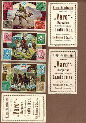 STAMPS, MAIL: Collection of RARE Victorian Trade Cards from Germany (1900)