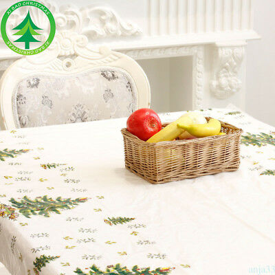 Disposable Christmas Tablecloth 110*180cm Tree/Santa Claus/Snowman/Ring Bell SP2