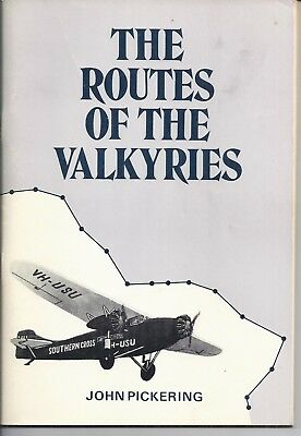 Routes of the Valyries - Story of Kingsford Smith & Ulm