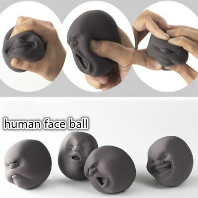 Squeeze Face Balls Toys Gifts Toy Stress Pressure Reliever Anti-stress