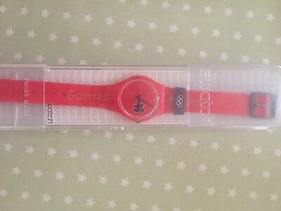 London 2012 Gamesmaker swatch olympic watch