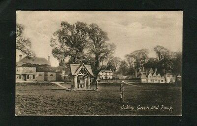 Postcard ,Ockley Green and Pump, Pub.FRITH.1910.