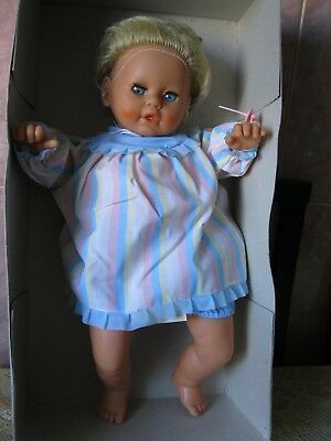 RARE- RARE - RARE - Vintage GDR  LARGE Size  Doll ORIGINAL BOX DO NOT USE - NEW