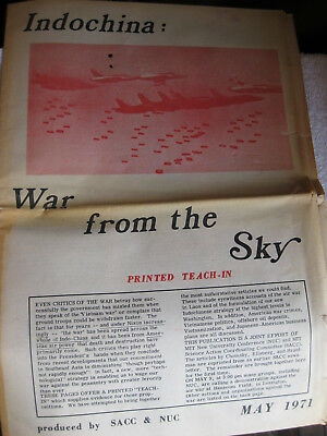 IndoChina Review newspaper  1971  MIT printing war collection teaching paper