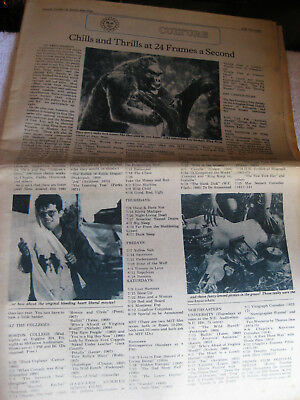 Boston after Dark 1972 Culture  Entertainment  newspaper section Elvis