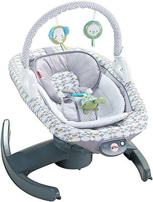 Fisher-Price 4-in-1 Rock 'n Glide Newborn Baby Swing Rocker Sleeper Soother