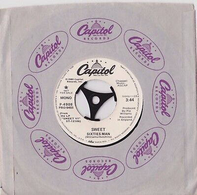 "The Sweet - Sixties Man Usa Mono/stereo 7""  Capitol Records"