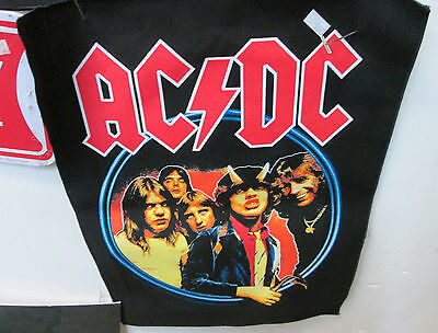 Ac/dc Collectable Rare Vintage Backpatch Back Patch 2004 Angus Original