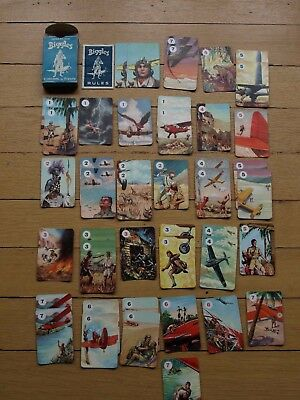 Vintage Card Game Pepys Biggles complete with Rules
