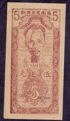 5 Dong From Vietnam Ho Chi Minh Unc