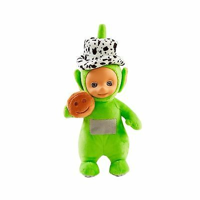 Teletubbies Toy Party Dipsy Talking Soft Plush In Hat With Tubby Toast NEW Tags