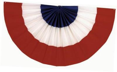 red white and blue bunting 18 by 36