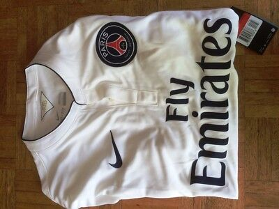 Maillot Psg 2014 Blanc - Taille L