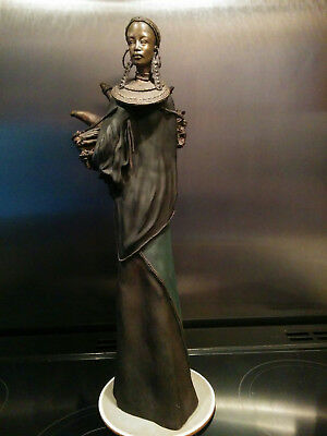 "Soul Journeys Maasai ""BALIMA"" Strength of Family by Stacy Bayne 20 inches tall"