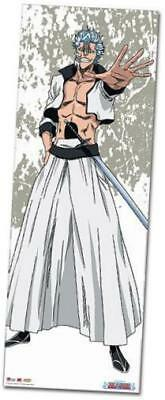 bleach grimmjow oversized wall scroll, 33 by 44-inch