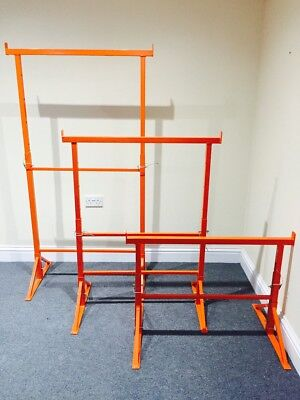 Builders Trestles - All Sizes - Trestle - Band Stands Painted 450 Kg SWL BS1139