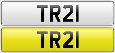 TR 21 Cherished Number Plate on retention