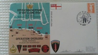 Operation Neptune /overlord D-Day 6 June 1944 Fdc