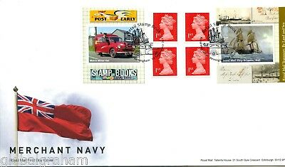 2013 Mail/navy Great Britain Self Adhesive Retail Booklet Royal Mail Fdc