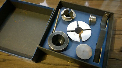 Record Power CWA50 Collet Chuck Set In Box For Wood Turning Lathe