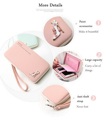 Universal Functional* Phone PU Wallet Case Cover up to 5.5 Inch.High Heels*