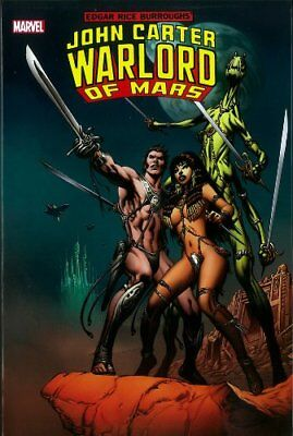 John Carter Warlord of Mars Volume 1 Hardcover Omnibus Sealed Mint