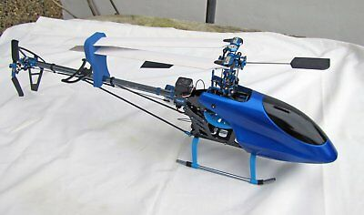 copterx radio controlled helicopter with storage/carry case