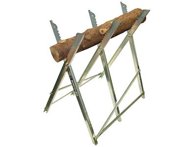 Faithfull FAISAWHORSE Saw Horse Folding Trestle Galvanised
