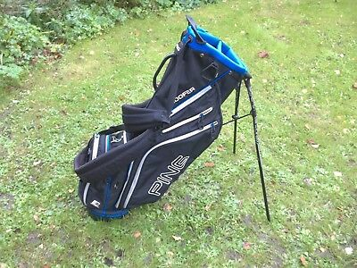 A Nice Ping Hoofer Stand Bag In Good Condition