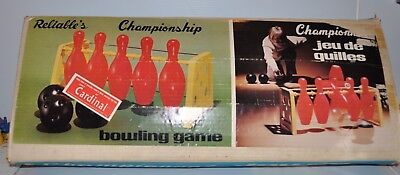 vintage BOWLING GAME Reliable Toy 1960s Canada- rj